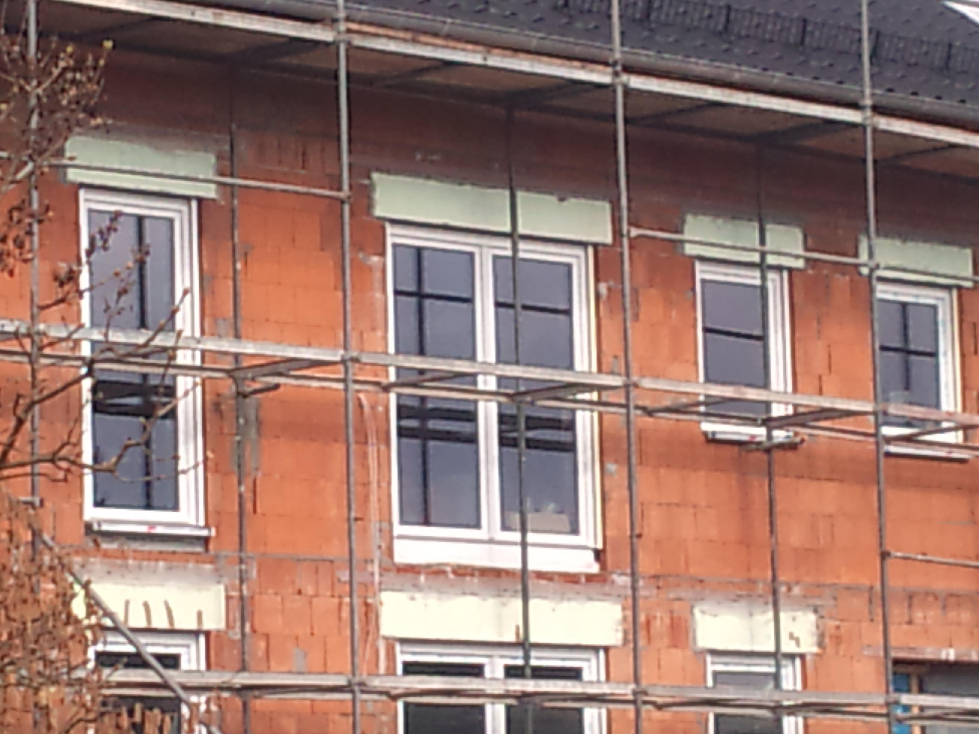 Neue Hausfassaden