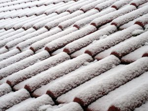 Dachdämmung Schnee - Pixabay